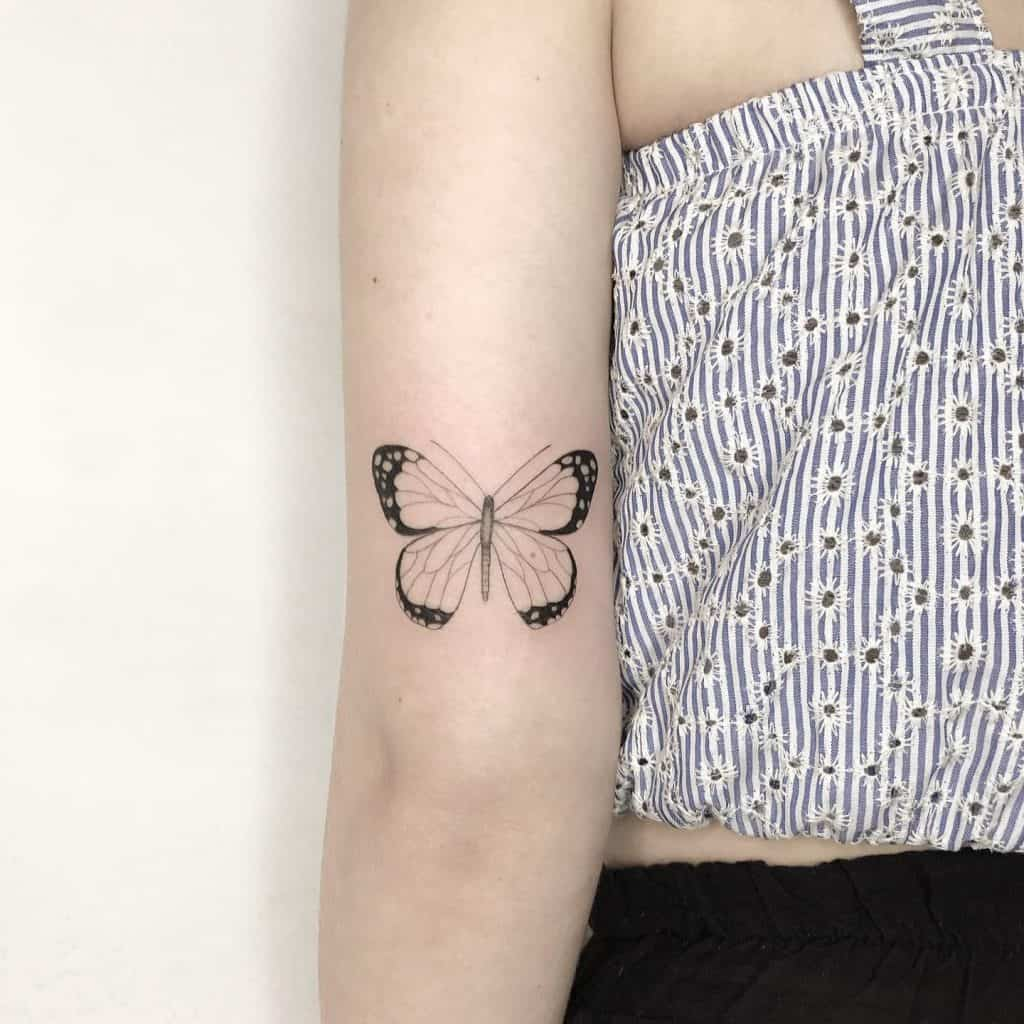 Freedom Butterfly Tattoos 1