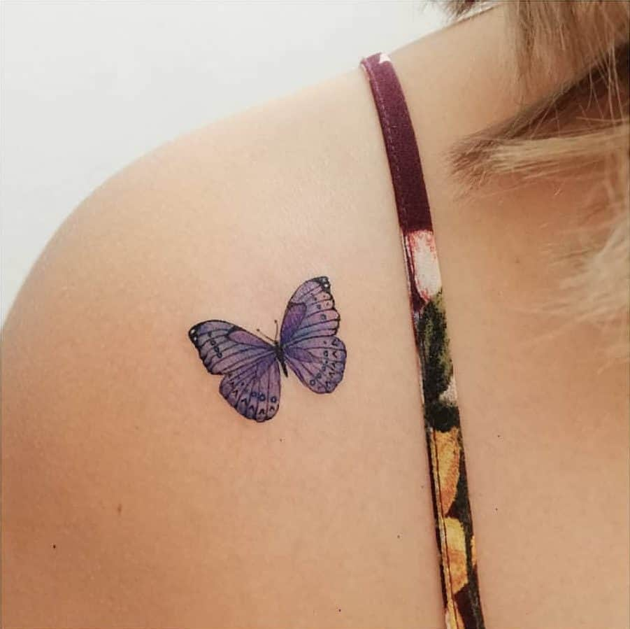 Freedom Butterfly Tattoos 3