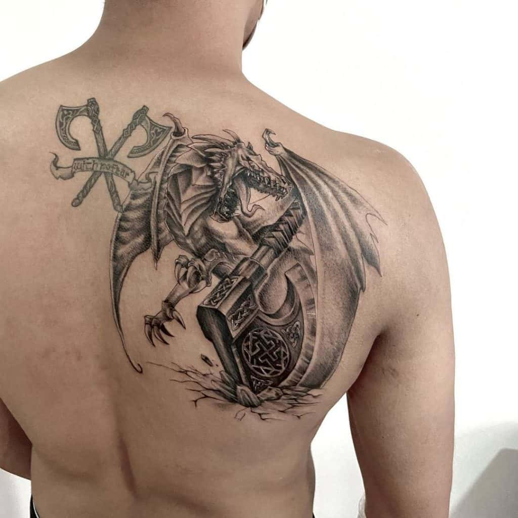 Freedom Dragon Tattoo 3