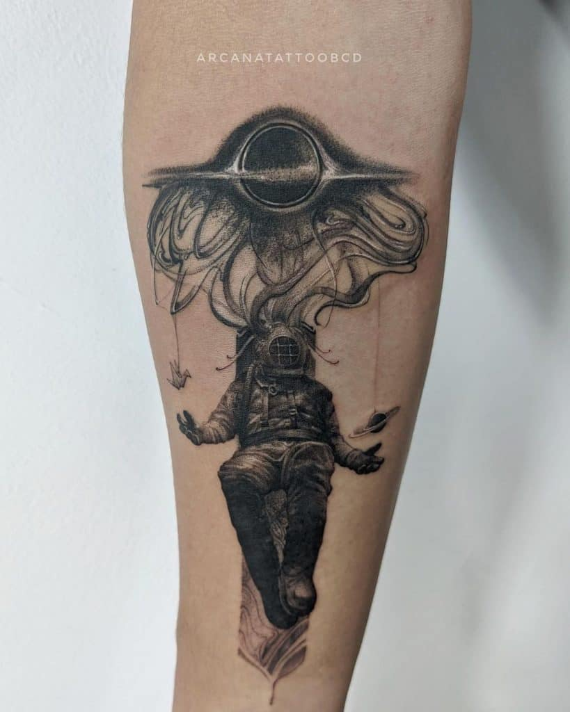 Realism Tattoos In Black And Grey 3