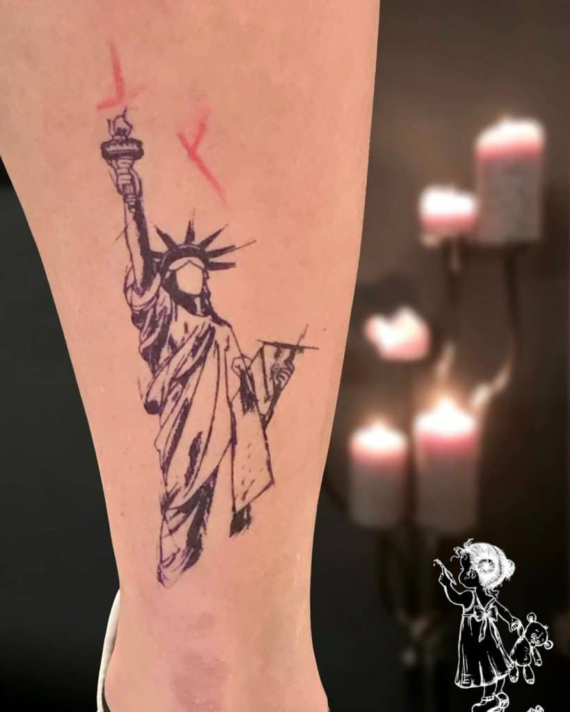 Statue of Liberty Tattoo 1