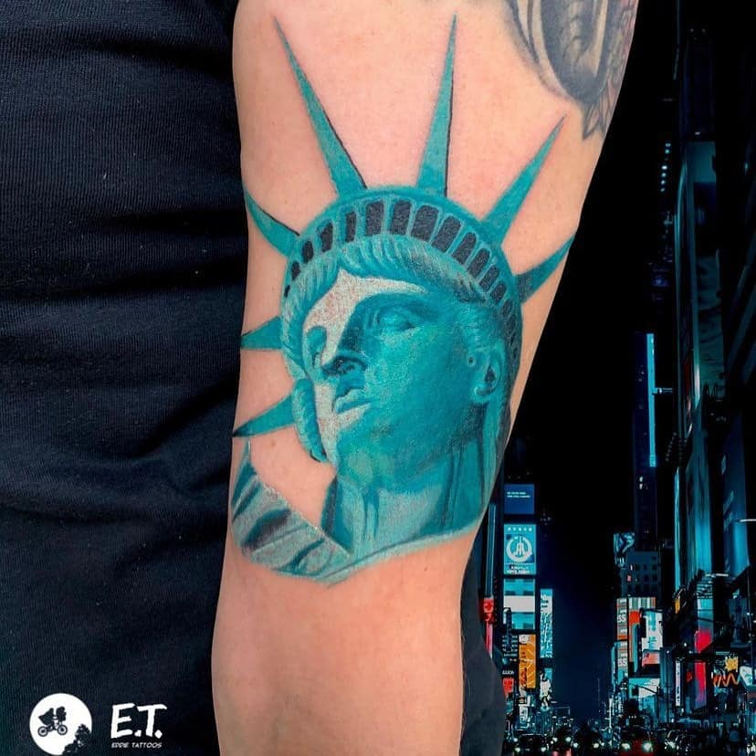 Statue of Liberty Tattoo 3