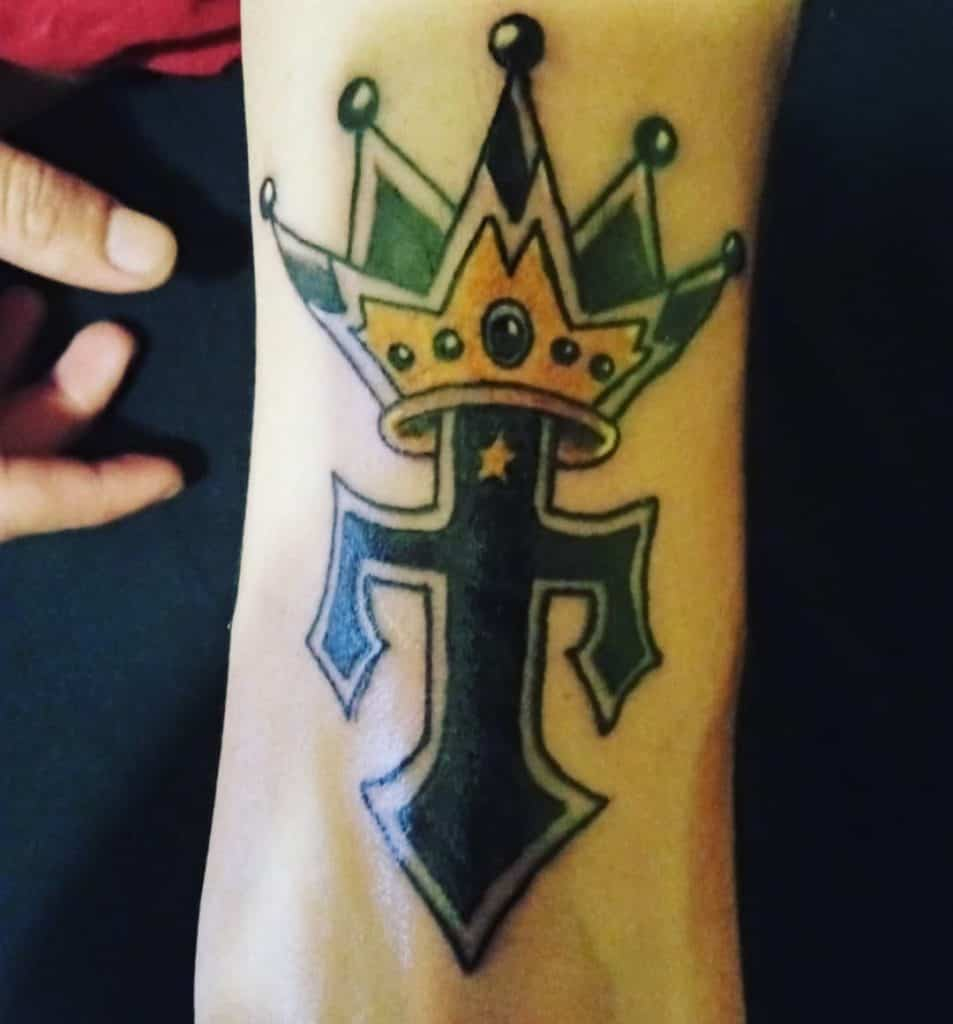 The five-point Crown Tattoo