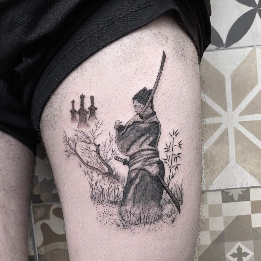 Tattoo black ideas metal UVA Radiology