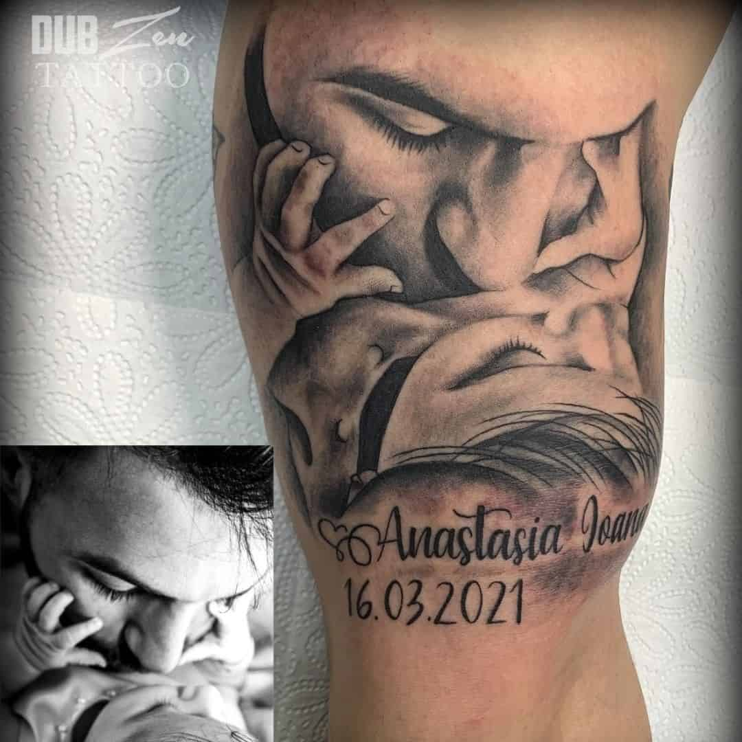 Guide to Father and Daughter Tattoos 20+ Best Design Ideas ...