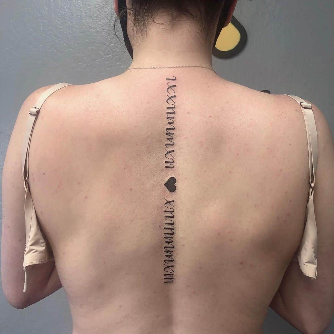 Fastest Women's Spine Tattoo Quotes